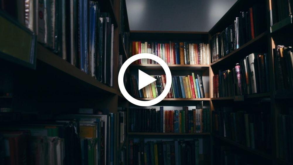 Bibliotekos reklaminis video